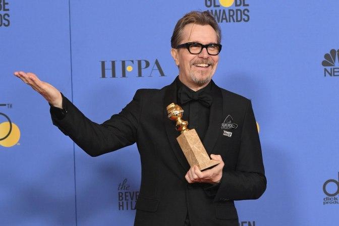 Гари Олдман получил «Золотой глобус» за лучшую драматическую роль
