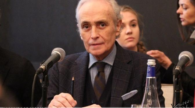 Хосе Каррерас приехал в Москву с программой «Спасибо тебе, Москва!»