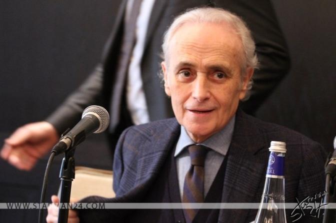 Хосе Каррерас возглавит музыкальный конкурс в Москве