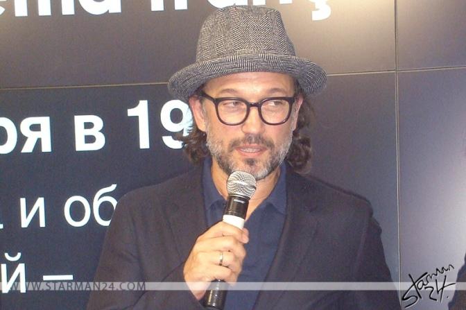 Венсан Перес открыл фестиваль «LE CINEMA FRANCAIS» в Москве