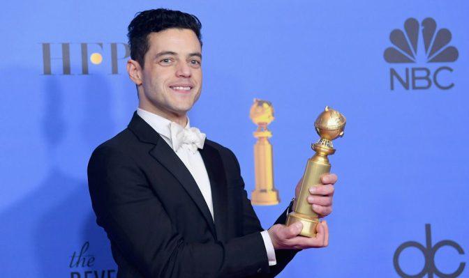 Рами Малек и Леди Гага получили «Золотой глобус»