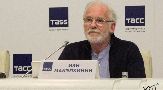 Иэн МакЭлхинни приехал в Санкт-Петербург