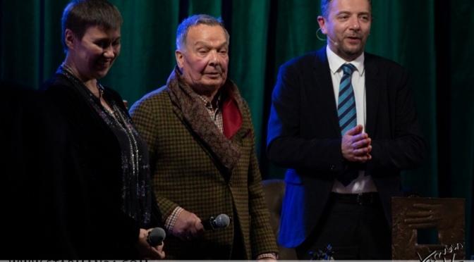 Вадим Алисов получил почетную награду кинооператоров «Белый квадрат»